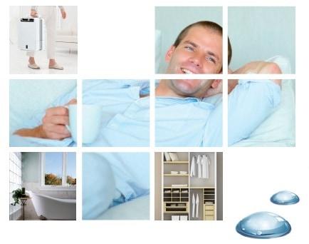 Las múltiples posibilidades de un deshumidificador en casa