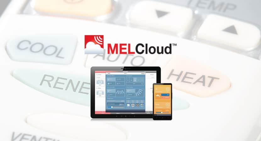 MelCloud: Mando Aire Acondicionado WIFI de Mitsubishi Electric