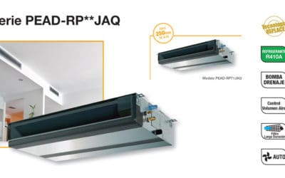 ama PEAD-RP UNIDAD INTERIOR de aires acondicionados de Mitsubishi Electric