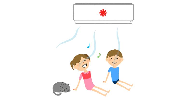como explicar el aire acondicionado a los niños