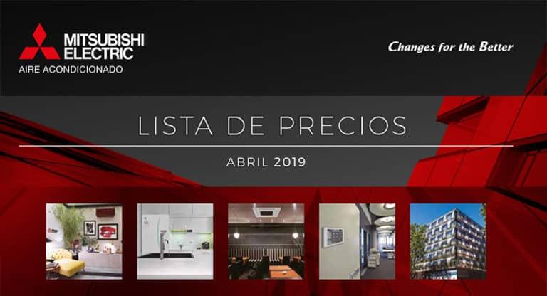 Condiciones generales de venta de Mitsubishi Electric (abril 2019)
