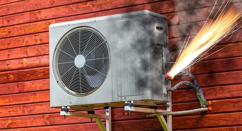 ¿Cuáles son los problemas más comunes del aire acondicionado?