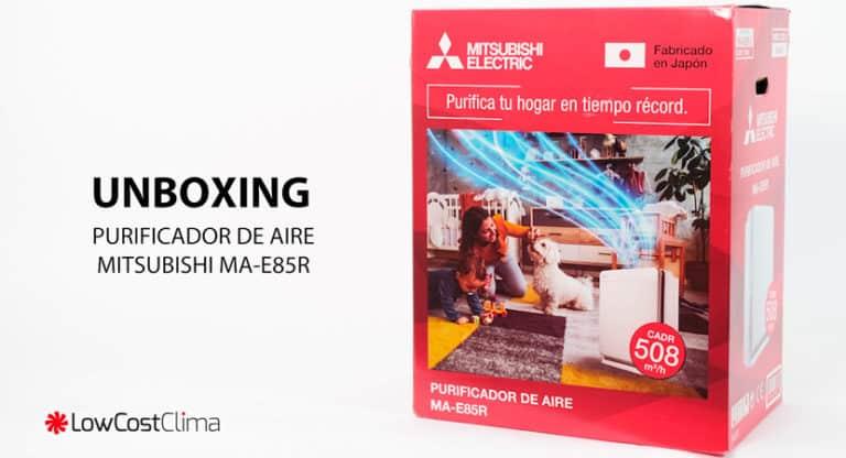 Unboxing purificador MA-E85R-E de Mitsubishi Electric