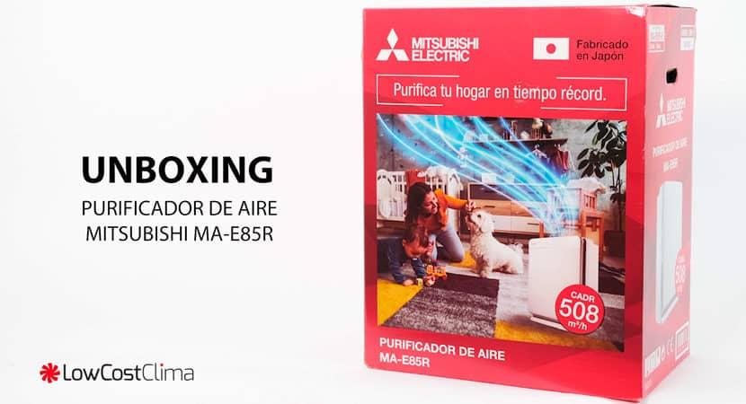 Unboxing purificador MA-E85R-E