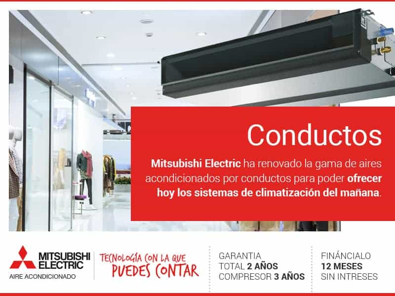 CONDUCTOS Mitsubishi Electric