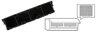 Filtro anti-olor con catalizador de platino para Mitsubishi MSZ-LN